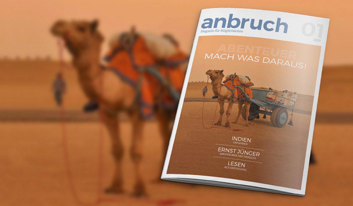 Anbruch: Erstes Kulturmagazin erscheint im März